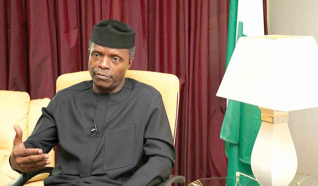 Shasha Violence: We Must Never Take Law Into Our Own Hands - Osinbajo - Vantage News Nigeria