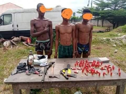 Two Suspected Armed Robbers Gunned Down, 8 Others Arrested in Akwa Ibom - Vantage News Nigeria