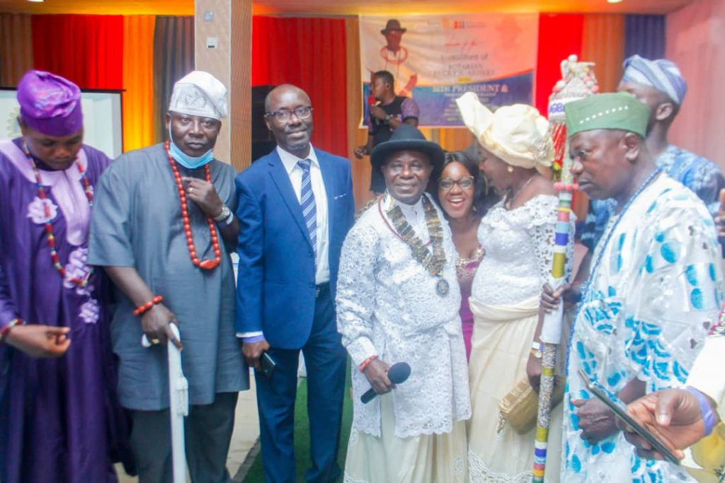 Urhobo Chief Becomes Rotary Club President, Sets Sight On Projects - Vantage News Nigeria