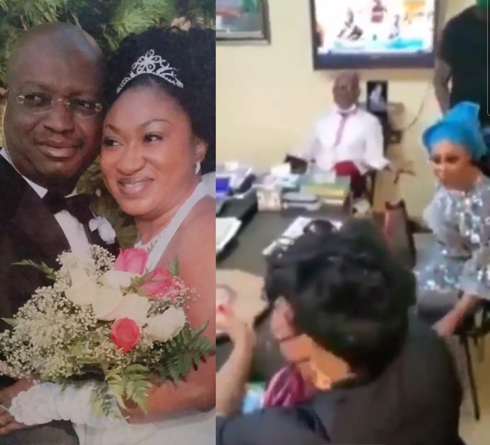 VIDEO: Drama As Wife, Mistress Fight In DPO's Office While Husband Watches Calmly - Vantage News Nigeria