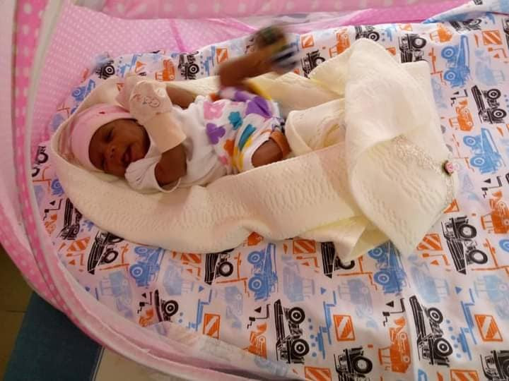 PHOTOS: Mother Of Twins Welcomes Sextuplets After 28yrs Of Childlessness - Vantage News Nigeria