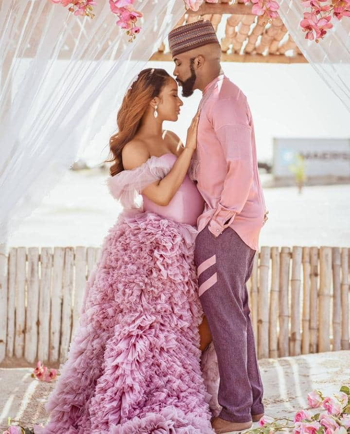 Banky W, Adesua Welcome Their First Child, Breaks Internet With Adorable Photos - Vantage News Nigeria