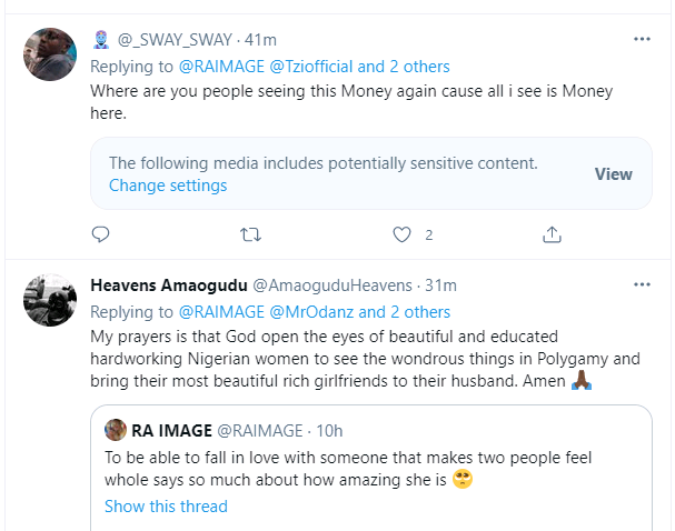See Hilarious Comments As Man In Throuple Relationship Shares Loved-up Photos With His Two Girlfriends - Vantage News Nigeria