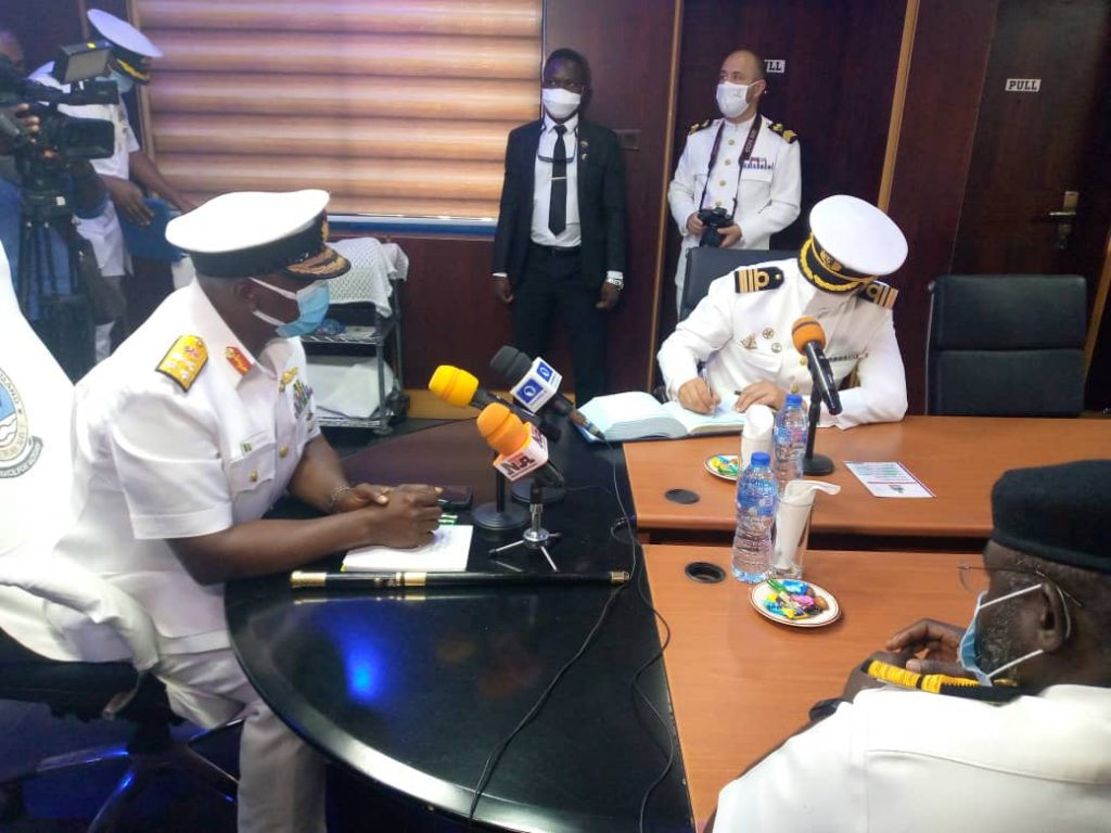 Nigerian Navy Collaborates With Portuguese Naval Ship To Improve Maritime Security - Vantage News Nigeria