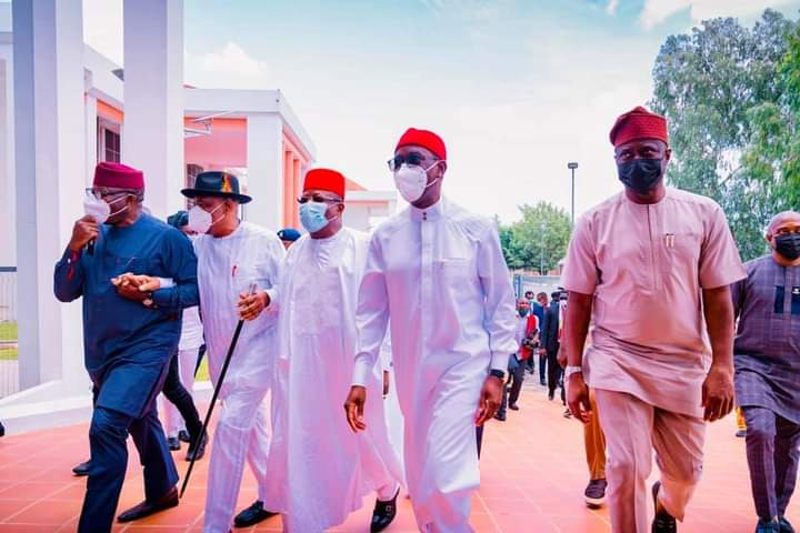 Photostory: When Southern Governors Met In Asaba - Vantage News Nigeria