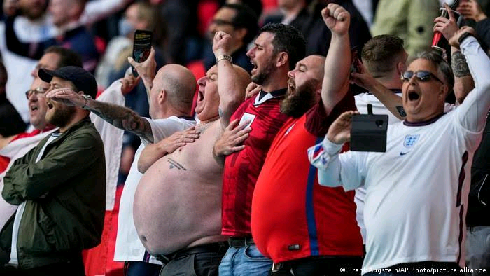 Euros 2020: Unseen Pictures Form England vs Italy Final - Vantage News Nigeria